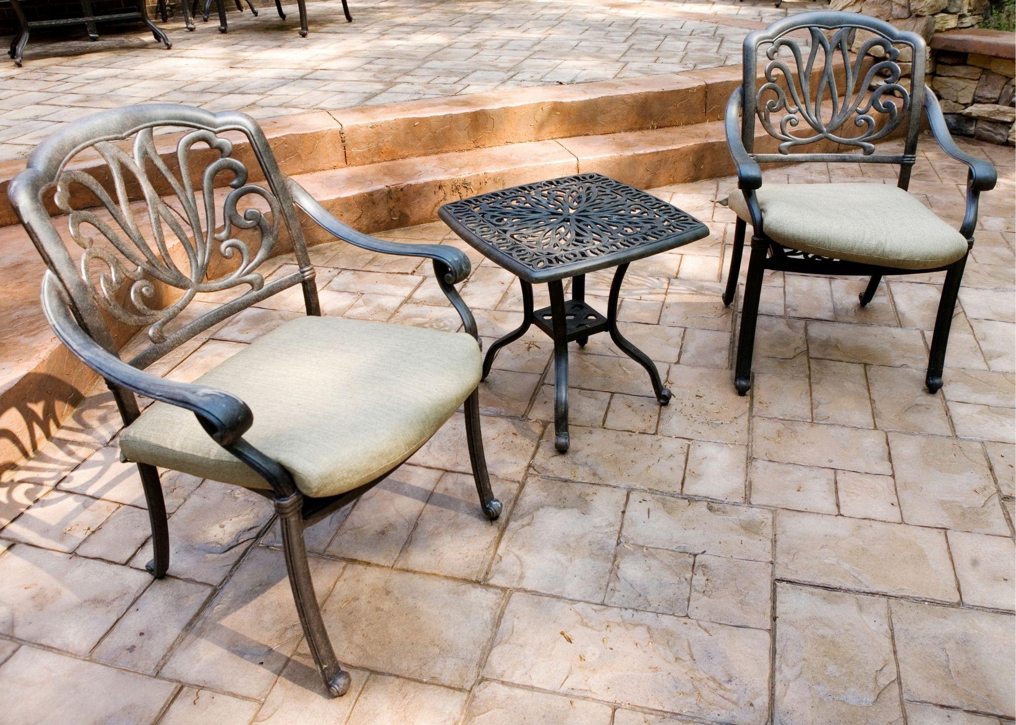 concrete patio Tyler TX